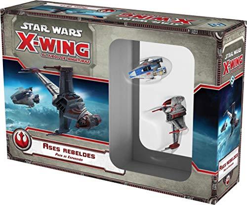 Fantasy Flight Games Star Wars - Ases Rebeldes, Juego de miniaturas (Edge...