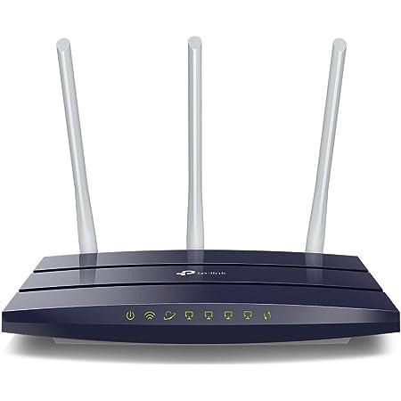 TP-Link TL-WR1043N - Router Inalámbrico Gigabit N a 450Mbps (3 Antenas externas de 5dBi, MIMO, con Cinco Puertos Ethernet Gigabit incorporados, ...