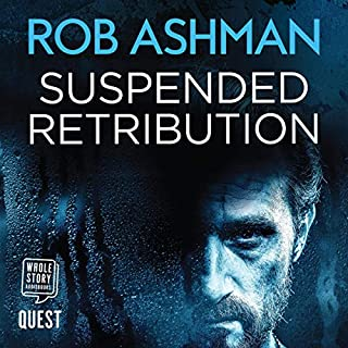 Suspended Retribution audiobook cover art