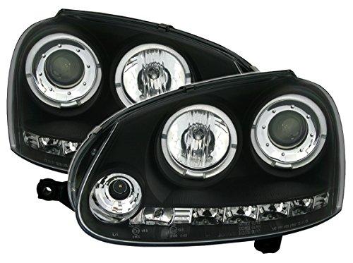 AD Tuning GmbH & Co. KG Set de phares Angel Eyes Noir