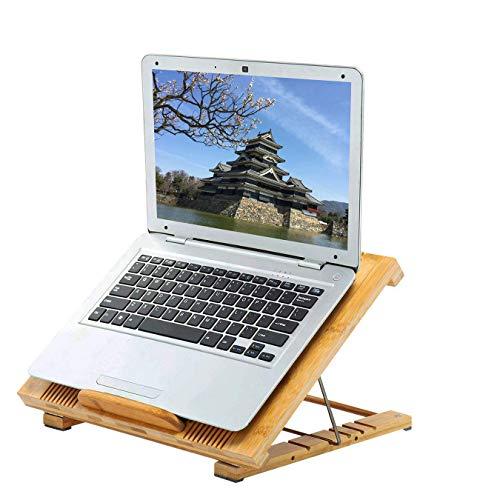 ノートパソコンスタンド 冷却 パッド ラップトップスタンド PC PS4ゲーム機用 折り畳み式 13 / 14 / 15.6 /...