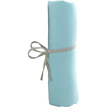 babyCalin Drap Housse Turquoise 60 x 120 cm