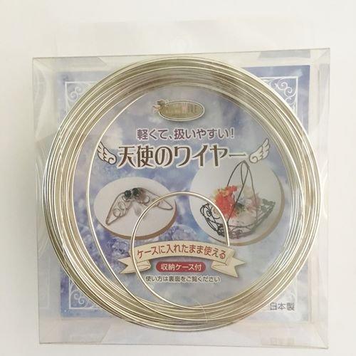 天使のWIRE ワイヤー収納ケース付 シャンパン 1.5mm×10m