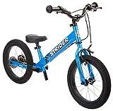 Strider 14x Sport - Bicicleta con Pedales Desmontables - para niños de 3 a 7 años, 14 Pulgadas (Azul)