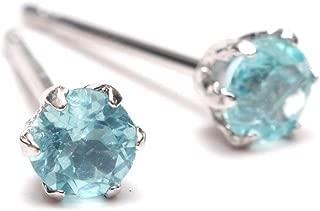 A.UN jewelry アパタイト 3mm ピアス