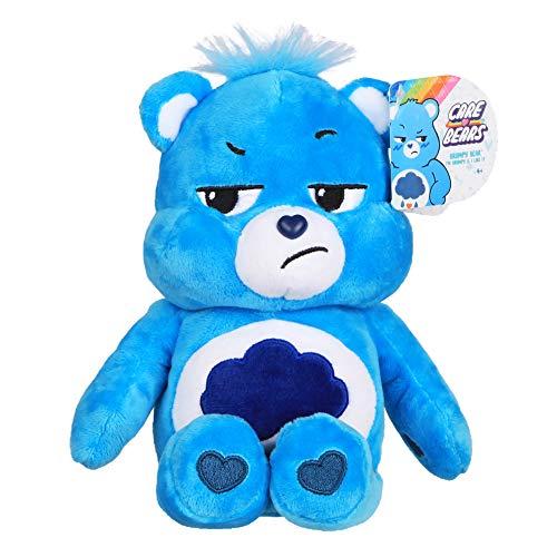Care Bears 22043 9 Zoll Bean Plüsch Grumpy Bär Sammlerstück Niedlich Plüsch Spielzeug Kuscheltiere für Kinder Stofftiere für Mädchen und Jungen Süße Teddies Geeignet für Mädchen und Jungen ab 4 Jahren