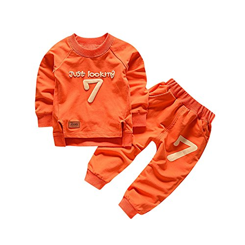Yying Baby Boys Set di Abbigliamento Tute da Bambino Tute Sportive Giacca in Pile Primavera Autunno Abiti Set Casual per Bambini