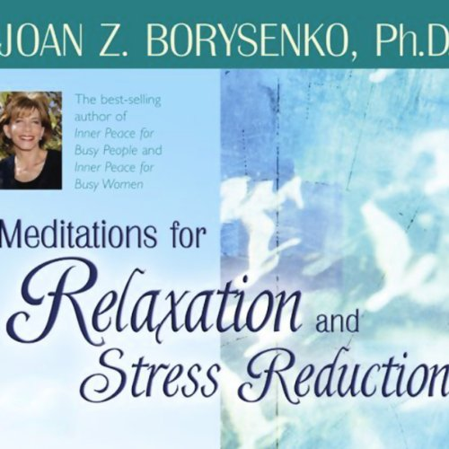 Meditations for Relaxation and Stress Reduction audiobook cover art