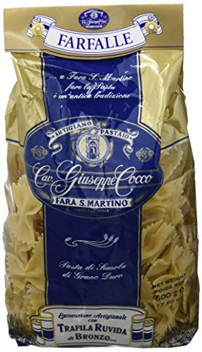 Artigiano Pastaio Formato Farfalle N.36 Cavalier Giuseppe Cocco Fara San Martino Abruzzo - 500 g
