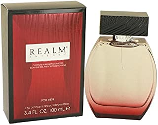 REALM INTENSE by Realm 3.4 Ounce / 100 ml Eau de Toilette (EDT) Men Cologne Spray