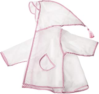 LHY- Raincoat S/M/L/XL Kids raincoat Boys and Girls Child Poncho 1-3 2-6 Years Old raincoat Convenient (Color : Pink, Size : XL)