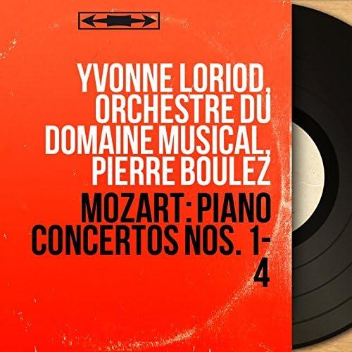 Yvonne Loriod, Orchestre du Domaine musical, Pierre Boulez