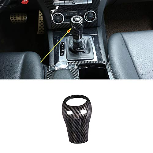 NewYall Automatic Transmission Car PU Leather Gear Shift Lever Knob