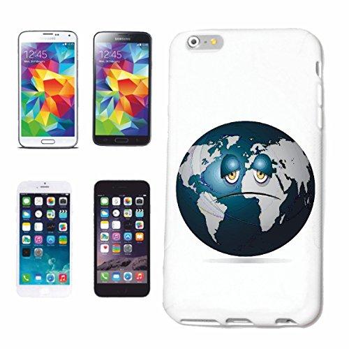 Reifen-Markt Handyhülle kompatibel für iPhone 7 Erde Planet Smile ERDBALL GLOBUS NASA Weltraum Astronaut Roboter Hardcase Schutzhülle Handy Cover Smart Cover