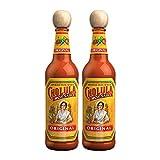 Cholula Original Pack 2x150 ml, Salsa Mexicana Picante en Caja de Cartón.…