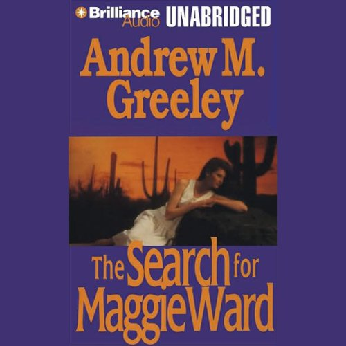 The Search for Maggie Ward audiobook cover art