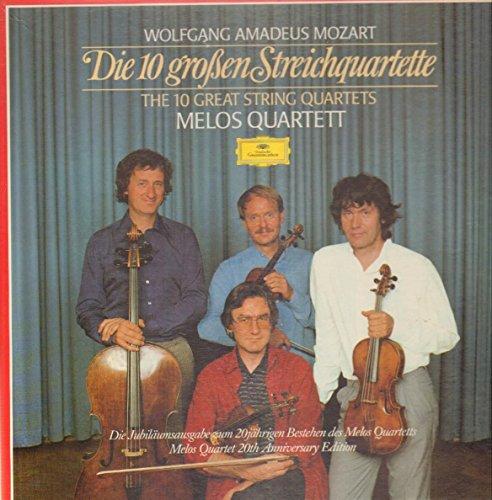Mozart: Die 10 großen Streichquartette/The 10 Great String Quartets [Vinyl Schallplatte] [5 LP Box-Set]