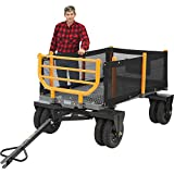 Bannon 3-in-1 Convertible Logging Wagon - 1,800-Lb. Capacity, 36 Cu. Ft.