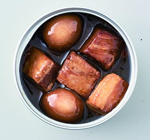 『明治屋 おいしい缶詰 豚肉の黒酢角煮(うずら卵入り)75g×2個』の2枚目の画像