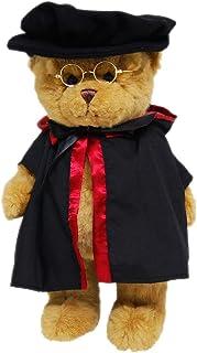 Elka Australia 1634-14D Graduation Teddy Bear Soft Plush Toy, Brown, 35 Centimeters