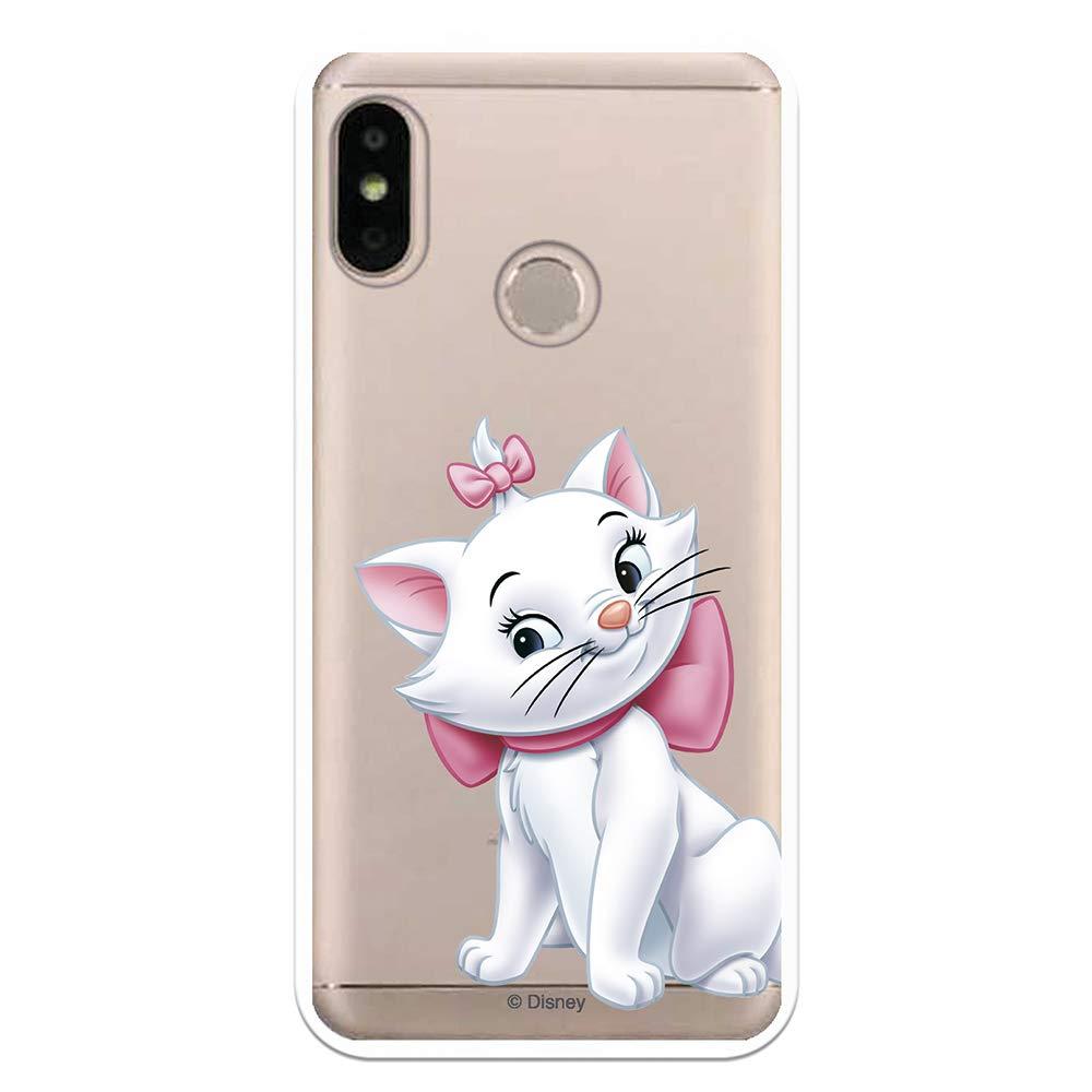 Funda para Xiaomi Mi A2 Lite - Redmi 6 Pro Oficial de Los Aristogatos Marie Silueta para Proteger tu móvil. Carcasa para Xiaomi de Silicona Flexible con Licencia Oficial de Disney.: Amazon.es: