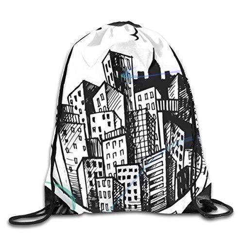 Lot de sacs à dos de gym avec cordon de serrage Cupfake Mar19 Casual Femmes Hommes Sac d'école de Formation Sac à dos Pochette Taille unique CityCircle