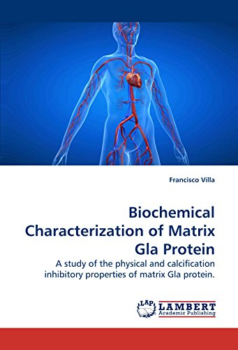 Biochemical Characterization of Matrix Gla Protein: A study of the physical and calcification inhibitory properties of matrix Gla protein.