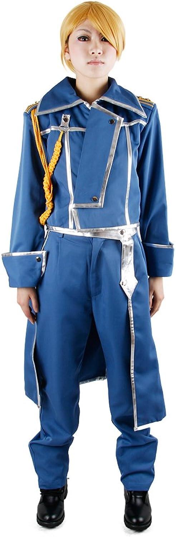 Miccostumes Women's Fullmetal Alchemist Riza Hawkeye Military Cosplay Costume