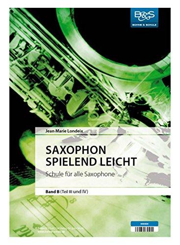 SAXOPHON SPIELEND LEICHT B - SAX