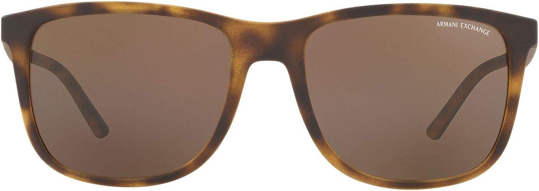 AX Armani Exchange Men's Ax4070s Square Sunglasses
