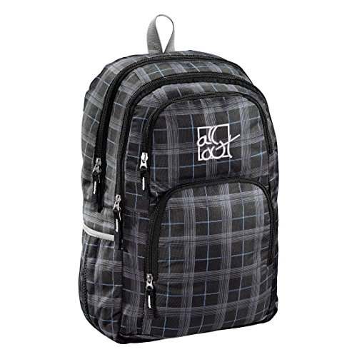 All Out Rucksack Kilkenny, Rainbow Check, 23 Liter, grau