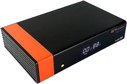 Docooler GTMEDIA V8 Nova DVB-S2 TV Receiver Digital Video Broadcasting Receptor de TV 1080P Set Top Box con WiFi Soporte H.265 EPG para Cccam Newcam Youtube EU Plug
