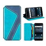 MOBESV Smiley Nokia 6 Wallet Case, Nokia 6 Leather