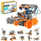 RCSPACEX Stem Project Toys for Kids,11 in 1 Solar Robot Science Experiment Kit for Boys Age 8-12,...