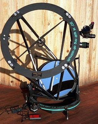 20' F4 Truss-Tube Ultra-light Motorized Dobsonian Telescope with Premium Galaxy Optics