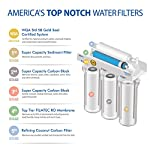 APEC Water Systems RO-90 Ultimate Series Top Tier Supreme Certified High Output 90 GPD Ultra Safe Reverse Osmosis… 16 Enjoy unlimited ultra-fresh, clean, great tasting water right at home. Save money, time and hassle of buying costly, bottled water Designed, engineered and assembled in USA, RO-90 is the most durable system in the industry to guarantee water safety & your health Tested and certified by WQA to remove up to 99% of contaminants including arsenic, chlorine, lead, fluoride, heavy metals, virus and 1000+ contaminants