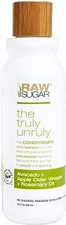 Raw Sugar Truly Unruly Conditioner Avocado + Apple Cider Vinegar + Rosemary Oil - 18 fl oz, pack of 1