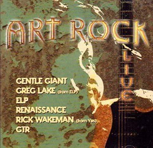 Art Rock Live [Audio CD] Gentle Giant; Greg Lake; ELP; Renascimento; Rick Wakeman e GTR