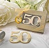 Regalos para invitados bodas de oro ABRIDORES 10 unidades PERSONALIZADAS detalles 50 aniversario