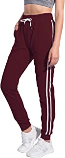 Women's Running Yoga Jogger Drawstring Sweatpants High Waist Sweat Pants with Pockets