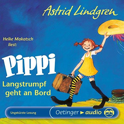 Pippi Langstrumpf geht an Bord audiobook cover art