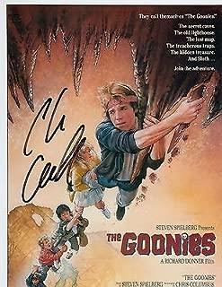 Chris Columbus signed The Goonies movie director 8x10 poster photo w/coa