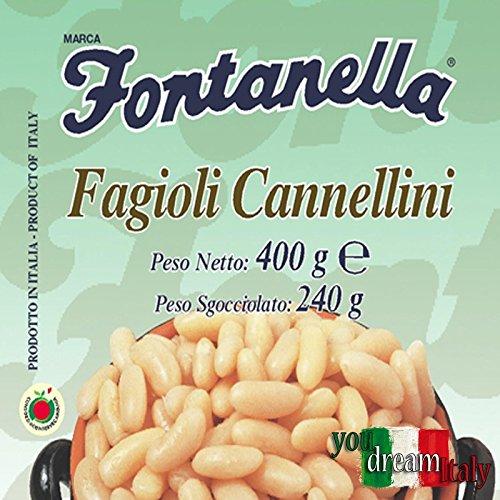 Fagioli Cannellini - 600 Gr. in Vetro - Cartone 12 Pezzi
