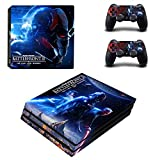 FENGLING Star Wars Battlefront 2 Ps4 Pro Skin Sticker para Sony Playstation 4 Consola y Controladores Ps4 Pro Skin Stickers Vinyl Decal