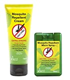 THEYE Natural Mosquito Repellent Cream and Micro Spray Combo Pack | DEET