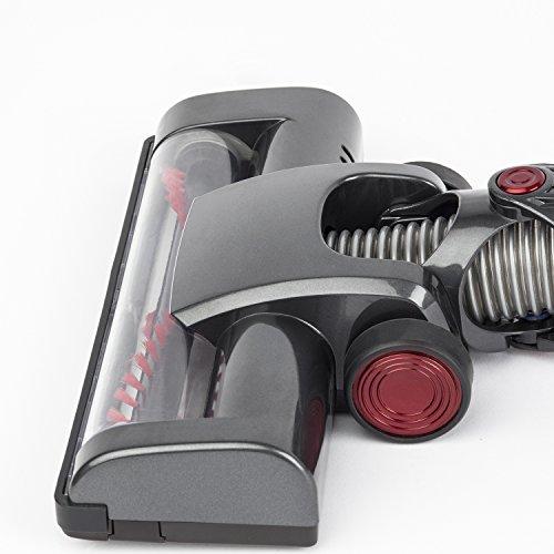 Aspirateur Balai sans Fil sans Sac UP600 H.Koenig - PowerClean - 2 vitesses - Puissant -Compact - Léger - Autonome -Silencieux - 100W - Multifonction pour Maison Voiture Bureau