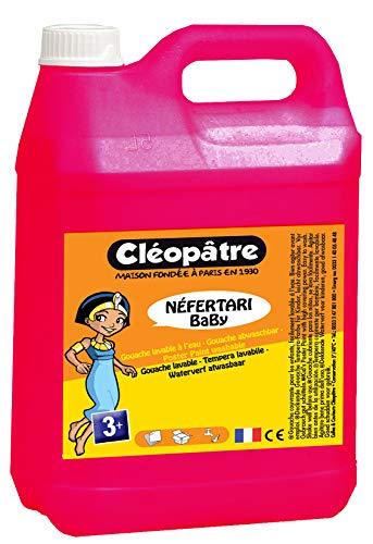 Cléopâtre Néfertari Baby Gouache, Magenta, Gouachefarbe 5 L
