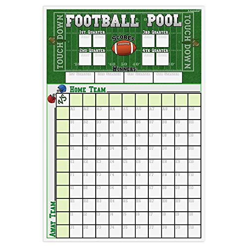 """Football Pool Poster 