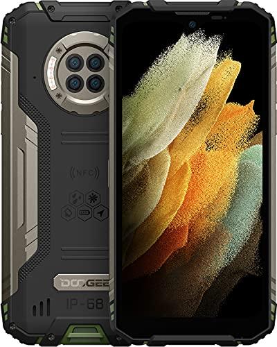 DOOGEE S96 Pro Rugged Smartphone 8GB RAM + 128GB ROM, Visione Notturna 20MP, 48MP Quad Fotocamera, IP68 Antiurto Smartphone Robusto, 6.2 Pollici HD+, 6350mAh, 4G Dual SIM Android 10 Telefono Cellulare