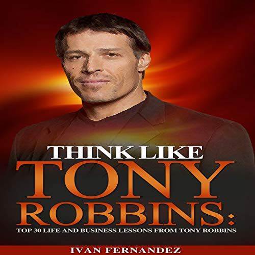 Think Like Tony Robbins audiobook cover art